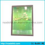 LED 가벼운 상자를 광고하는 호리호리한 포스터 프레임