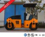 Maquinaria dobro hidráulica cheia Yzc3.5h do rolo Vibratory do cilindro de 3.5 toneladas
