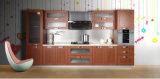 Gabinete de cozinha Single-Wall com revestimento da melamina (zg-024)