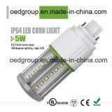 la luz E26/E27/G24 del maíz de 5W IP64 LED con el Ce RoHS del cUL PSE de la UL aprobó