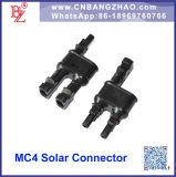 2 a 1 conetores de filial solares para o módulo solar