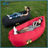 210d saco de preguiça de poliéster sofá de ar personalizado