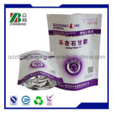 Aluminiumfolie-Fastfood- Reißverschluss-Verpackungs-Beutel für Imbiss-Nahrung