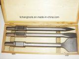 scalpello 4PCS impostato con il pacchetto di plastica