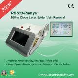 Laser vascolare del diodo della macchina 980nm di rimozione Rbs-03