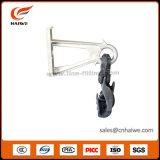 Агрегат струбцины подвесного кабеля с Preinstalled алюминиевым пластичным кронштейном