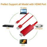Relâmpago quente da venda ao cabo E de HDMI para o iPod do iPad do iPhone apto para a utilização