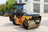 Rolo de estrada Vibratory do cilindro dobro hidráulico de 7 toneladas (JM807H)