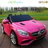 Carro de quatro rodas controlo remoto do brinquedo do carro elétrico das crianças dobro do carro da movimentação