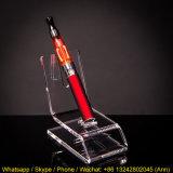 Transparenter elektronischer Zigaretten-Feder-Bleistift-Bildschirmanzeige-Großhandelsacrylsauerhalter