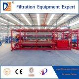 Hohe Leistungsfähigkeits-Raum-Filterpresse für Abwasser-und Abwasser-Behandlung