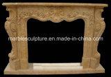Cornija de lareira de mármore natural da chaminé de China (SY-MF032)