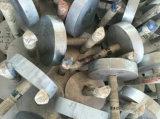 Здание металла OEM врезало части для пользы Conturction