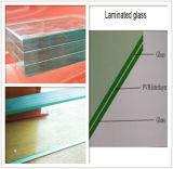 glas van Lamianted van de Thee van de Diamant Bule/van 6.38mm40mm het Duidelijke Bruine voor de Bouw van Glas