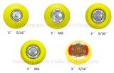 rilievo della protezione della sabbiatrice di 3in con l'amo & ciclo o vinile