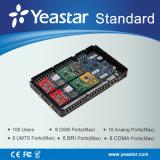 Linea di accesso al centralino privato del IP di Yeastar 100 Users Highest Standard per SMB (MyPBX Standard)