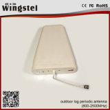 9dBi het OpenluchtGebruik van de Periodieke Antenne van het Logboek 800-2500MHz voor de Mobiele Repeater van het Signaal