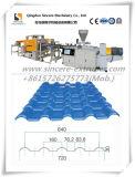 Pvc ASA verglaasde de GolfMachine van Extrusing van de Lijn van de Uitdrijving van het Blad van de Tegel van het Dak van de Golf Makend Lijn 720/880/960/1040mm