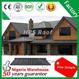 振動の石の上塗を施してある金属の屋根瓦モデルPerkasaの屋根