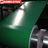 Tetto d'acciaio ondulato dello strato rivestito del galvalume di colore di PPGL