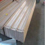 folha ondulada Prepainted PPGI do painel da telhadura do material de construção de 0.13mm-2mm