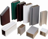 5500 seções personalizadas do perfil da construção de Ust extrusão de alumínio de alumínio