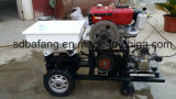Type de vis à haute pression Diesel Ciment Pulvérisation Machine de plâtre