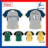 高品質のHealongのカスタム安い昇華野球のジャージの均一衣類