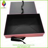 Подгонянная коробка подарка упаковки бумаги платья одежды