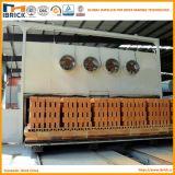 Four à tunnel de brique d'argile avec la chambre de dessiccateur de brique