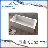 Vasca da bagno acrilica indipendente del quadrato nero di bordi (AB1506B)