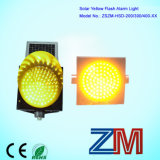 OEM / ODM Mits LED knippert Solar Traffic Warning Light met krachtige Alarm Functies