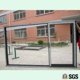 Spur-Aluminiumrahmen-Schiebetür der gute Qualitäts3, Fenster, Aluminiumfenster, Aluminiumfenster, Glastür K01111