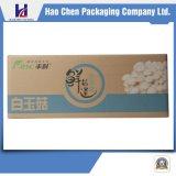 Vehículo de la buena calidad y rectángulo de empaquetado acanalado fruta del cartón del embalaje