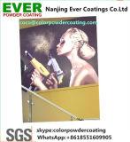 Enduit électrostatique de poudre de peinture de poudre de jet de polyester en bois en aluminium de finition de sublimation