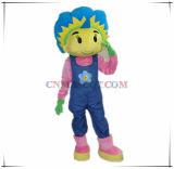 Costume della mascotte del fiore della ragazza per uso del partito