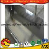 plafond de gypse d'enduit de PVC de blanc de 7mm avec le dos de papier d'aluminium