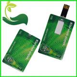 Movimentação de venda quente do flash do USB do cartão de crédito do tamanho do cartão de crédito