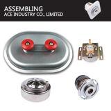 Sellado personalizado de metal de hoja de aluminio abrazadera acopladores de acoplamiento