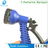 Ugello del tubo flessibile di Sparyer della mano di risparmio 7patterns dell'acqua