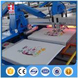 Impresora automática oval de la pantalla de seda con buen servicio