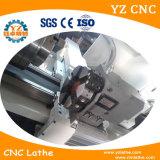 Hecho en el CNC de China que da vuelta al torno de centro del &CNC