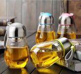 400ml svuotano la bottiglia bevente di vetro, bottiglia di vetro, contenitore di vetro dell'acqua