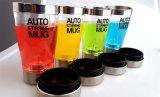 Modèle neuf de mélange de cuvette d'individu de café de tasse d'acier inoxydable de café d'individu Stirring automatique Stirring électrique de tasse