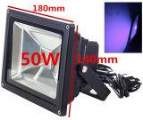 Houlightの、Blacklightの釣、アクアリウム、暗闇の白熱のために(85V-265V AC)治癒IP65防水高い発電10W-50W紫外紫外線LEDの洪水ライト
