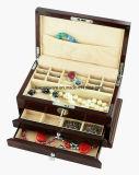 Коробка хранения ювелирных изделий отделки рояля деревянная