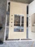 Bovenkant van de Ijdelheid van de Badkamers van Marfil van Crema de Beige Marmeren