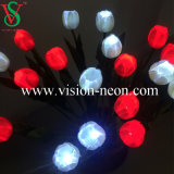 De alta qualidade artificiais Rose Wedding Simulative LED Flower Lights