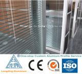 Perfil de alumínio feito sob encomenda da qualidade superior para a porta do obturador do indicador do obturador