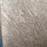高品質のオマーン磨かれたローズの白い大理石の平板